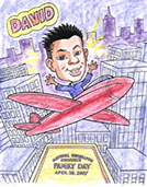 Airplane, Kid's Theme Parties, Action Caricatures by Bill  Phoenix, Scottsdale, Tempe, Chandler, Glendale, Mesa, Gilbert