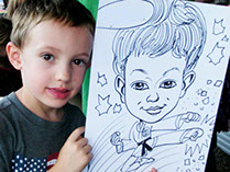 Kid's Theme Parties, Martial Arts, Action Caricatures by Bill  Phoenix, Scottsdale, Tempe, Chandler, Glendale, Mesa, Gilbert