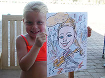 Kid's Theme Parties, Rock N' Roll, Action Caricatures by Bill  Phoenix, Scottsdale, Tempe, Chandler, Glendale, Mesa, Gilbert