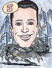 Superhero Gift Caricature Batman